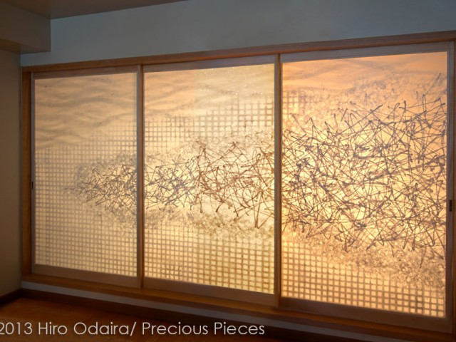 Amano-Gawa (Milky Way) Sliding Doors and Custom Made Products for NYC Condo