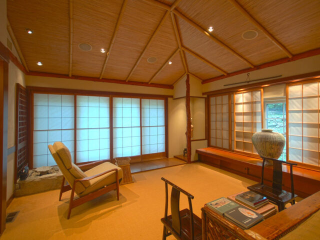 Restoring Japanese Style Living Room For Connecticut Residence